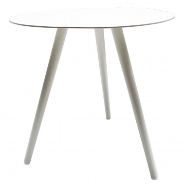 Table d'appoint Sorrento blanche Gescova