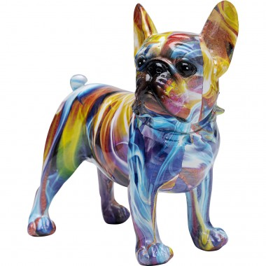 Figurine décorative Frenchie Colorful
